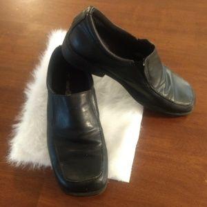 Smartfit Boys Loafer Slip-on Dress Shoes in Black